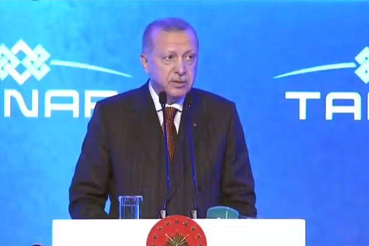 """Эрдоган: """"С помощью проекта TANAP мы связываем Европу с Азией"""""""