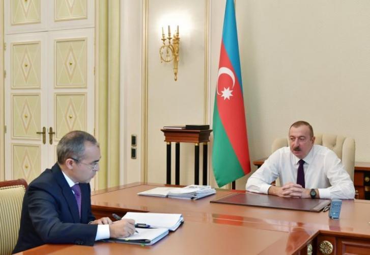Президент:  «Минналогов собрало сверх плана более 350 млн манатов - это проявление прозрачности»