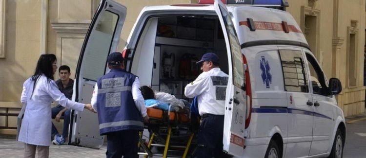 В Саатлы произошло ДТП, пострадали пять человек