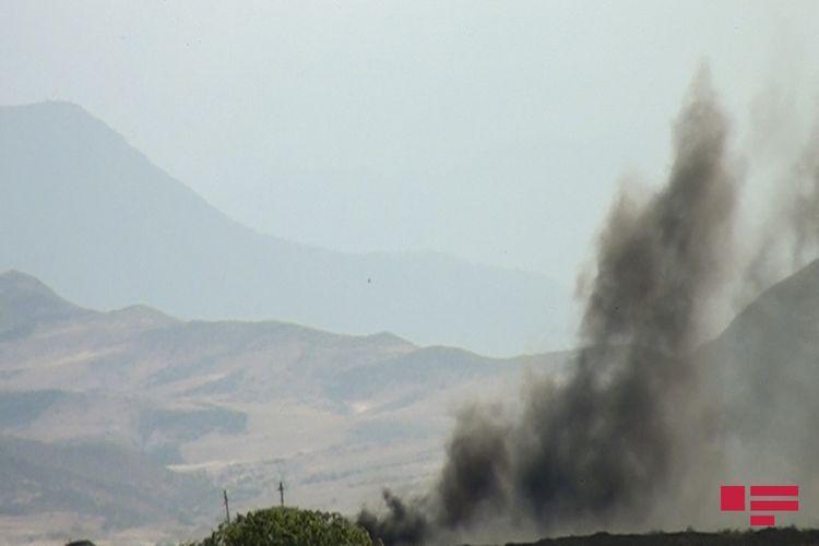 Армяне вновь поджигают оккупированные территории Азербайджана