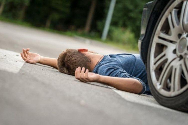 В Баку Jeep насмерть сбил пешехода