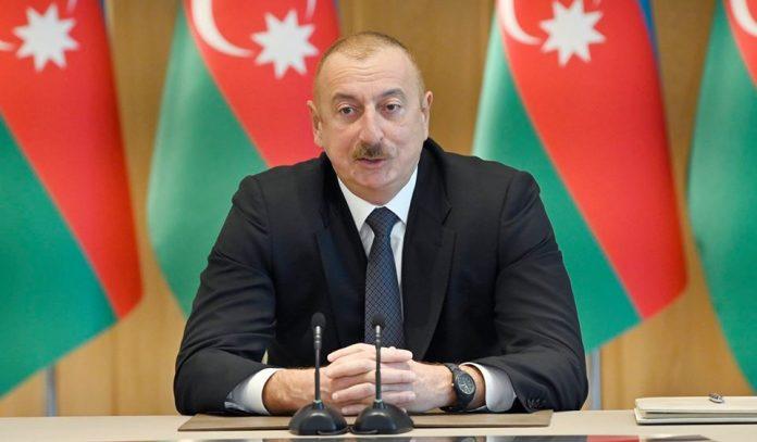 """Ильхам Алиев: """"Они только могут сражаться против мирных граждан"""""""
