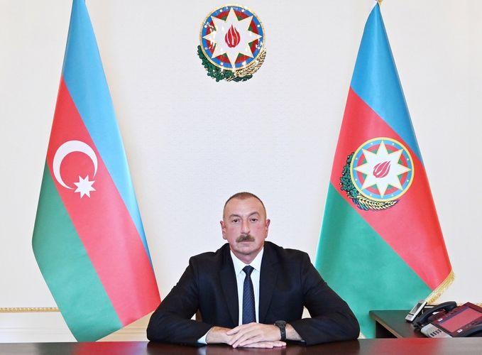 Президент Ильхам Алиев обратится к народу