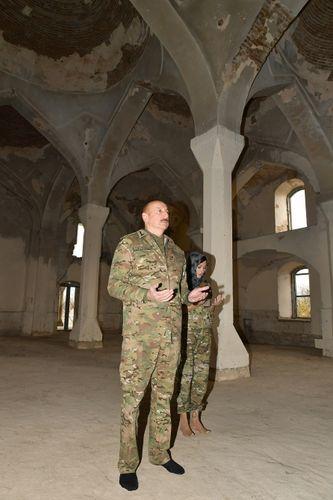 Президент Ильхам Алиев и первая леди Мехрибан Алиева посетили город Агдам - ФОТО - ВИДЕО