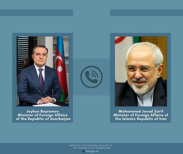 Джейхун Байрамов выразил соболезнования иранскому коллеге в связи с убийством ученого-ядерщика