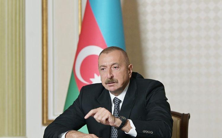 Ильхам Алиев: Если кто-то хочет создать для армян второе государство, пусть создает на своей территории