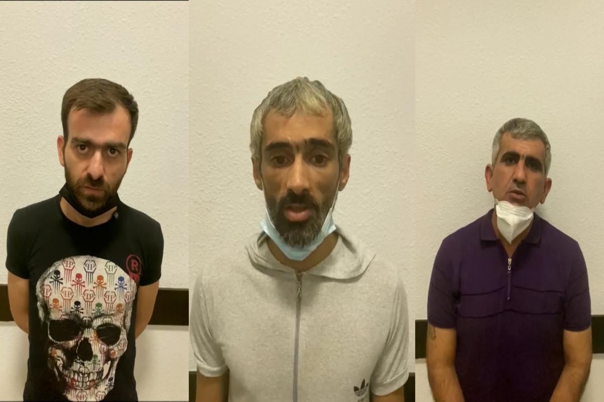 В Баку задержаны 3 наркокурьера