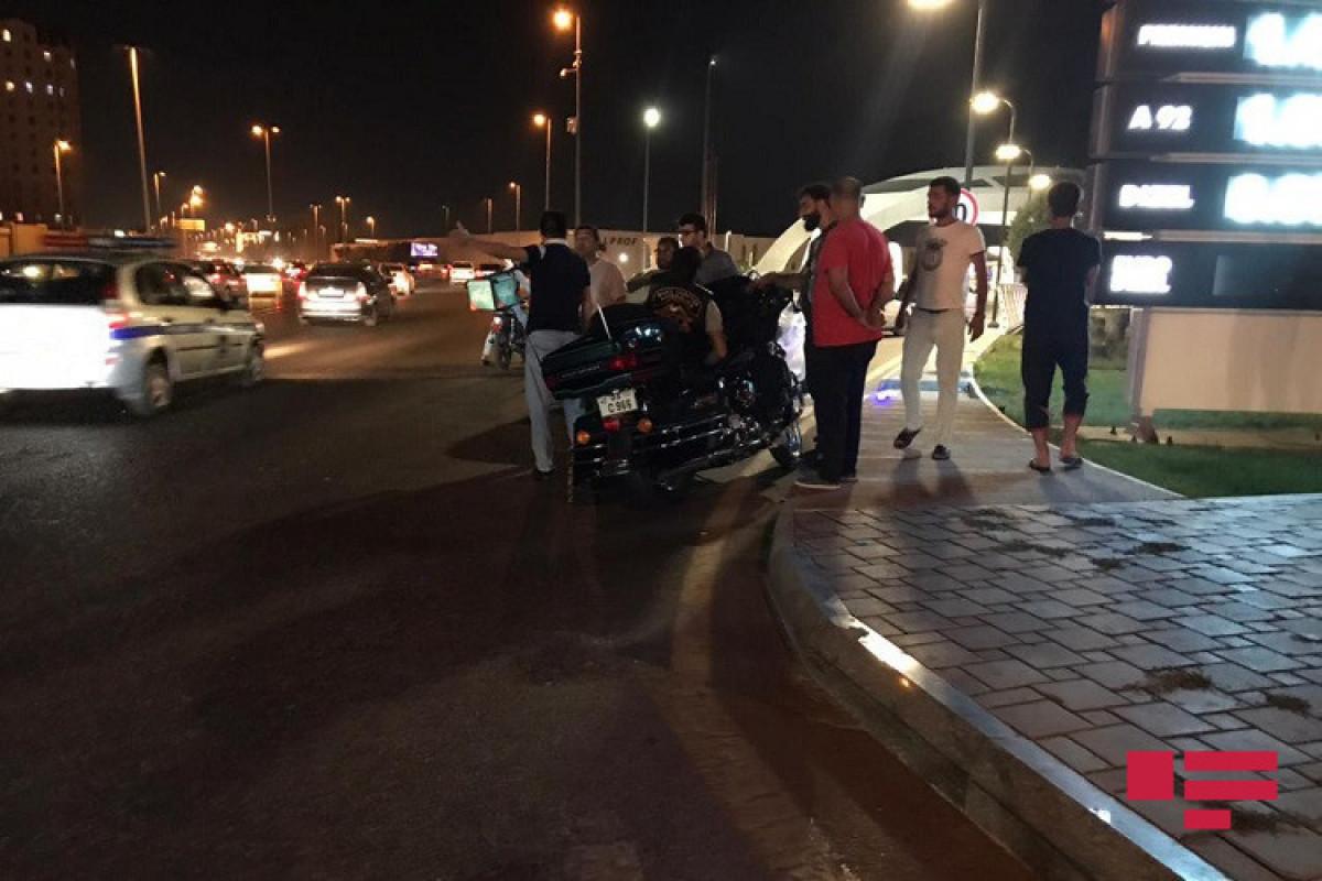 Цепное ДТП в Баку, есть погибший и раненые -ФОТО