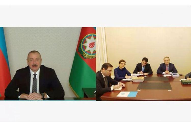 Президент Азербайджана: Я рассчитываю на поддержку ТЮРКСОЙ