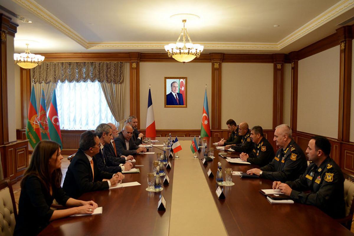 Закир Гасанов встретился с делегацией Франции-ФОТО
