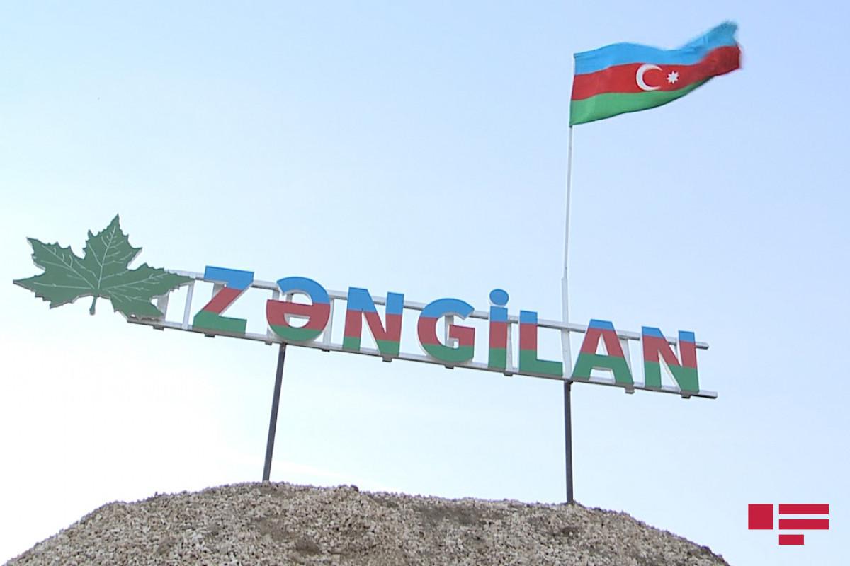 В Зангилане состоялась официальная церемония встречи президента Турции